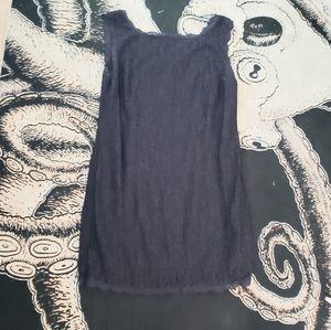 Adrianna Papell Navy lace mini dress 22w evening